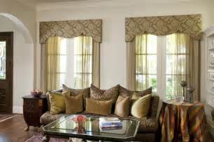 living room window treatment