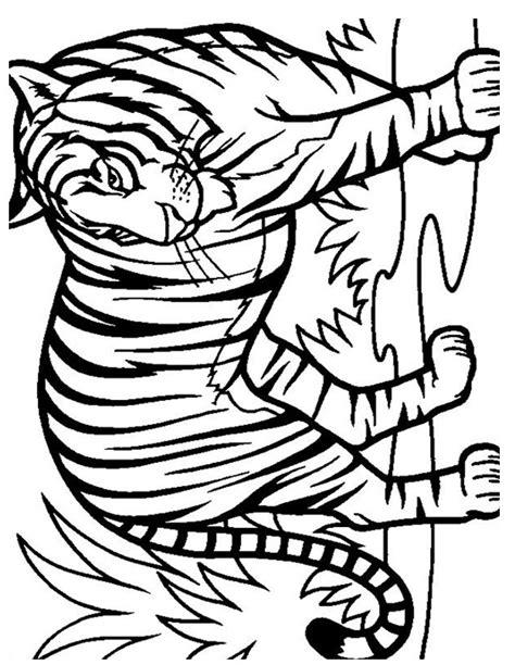 Coloriage Tigre 224 Imprimer Gratuitement