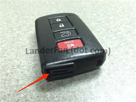 Toyota Key Fob Battery Replacement Replacing The Battery In Your Toyota Highlander Smart Key