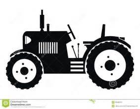 tracteur noir illustration vecteur image 39682263