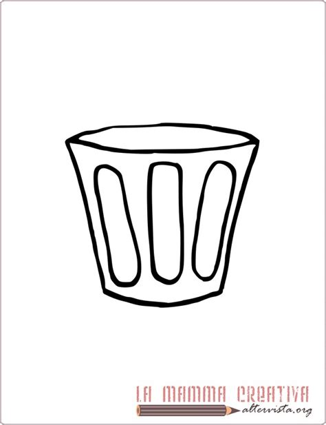 disegni bicchieri disegni parole della lettera b lamammacreativa