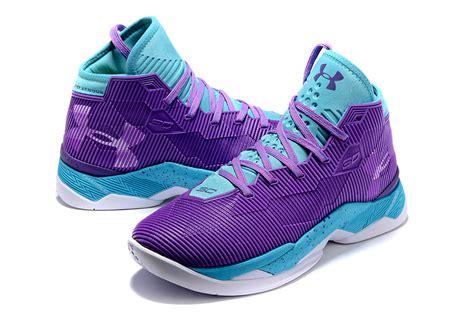 purple armour basketball shoes humanized armour ua steph curry 2 5 purple blue