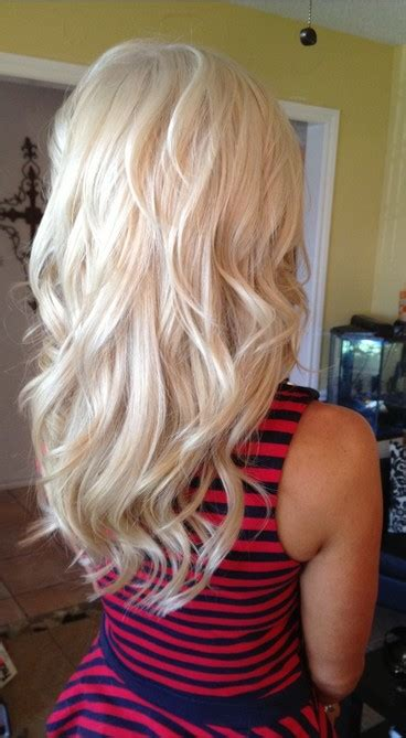 slightly wavy hairstyles charming long blond hairstyles pretty designs us57