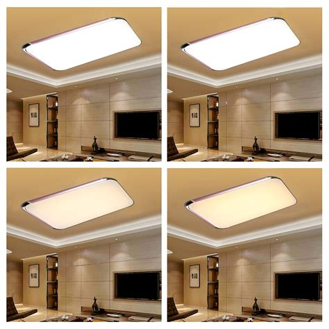 Kitchen Ceiling Lights Uk 48w Led Ceiling Light Bedroom Wall Kitchen L Wireless Remote Uk Ebay