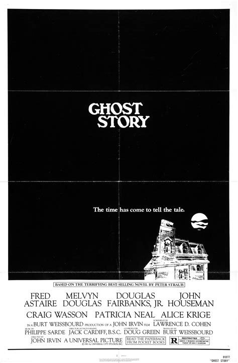 film ghost story 1981 ghost story 1981 horror movie posters pinterest