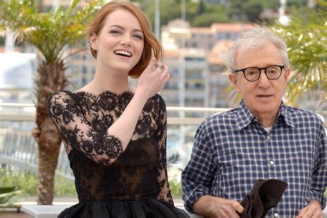 emma stone woody allen movie woody allen muses about emma stone death and his