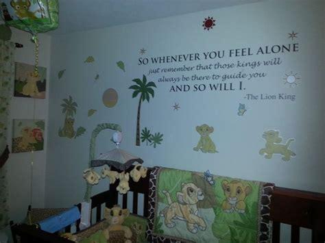 Vinyls Lion And Nurseries On Pinterest King Nursery Decorations