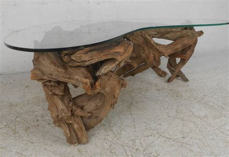 driftwood coffee table base driftwood coffee table at 1stdibs
