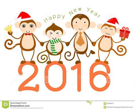 new year monkey resources monkey year stock vector image 63533875