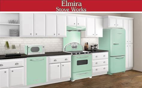 green kitchen appliances a mint green and white color combination is not only