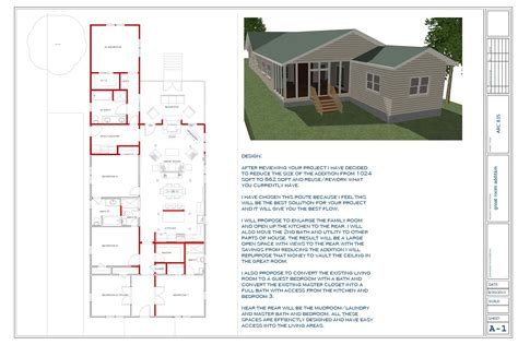 Room Addition Floor Plans | floor plans designed by touyer lee great room addition