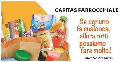 pacco alimentare raccolta generi alimentari comune di inveruno