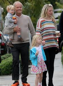 kelsey grammer wife kelsey grammer treats wife kayte walsh and kids to lunch