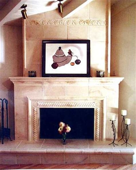 Tuscan Fireplace Design by Tuscan Fireplace Decorating Ideas