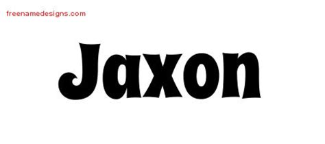 jaxon name tattoo ideas jaxon archives free name designs