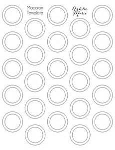 Printable Macaron Template by Chocolate Mint Macarons Ashlee