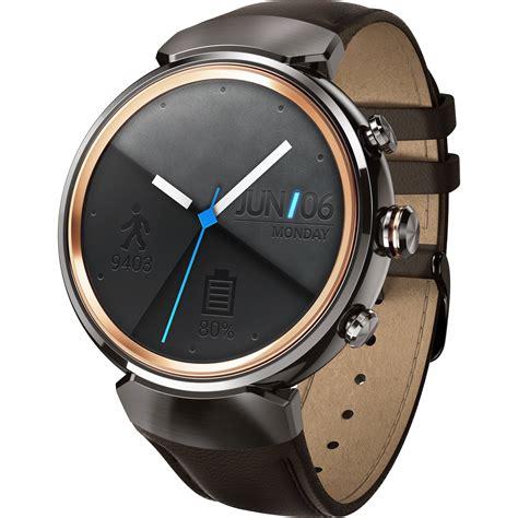 Smartwatch Asus Zenwatch 3 Asus Zenwatch 3 Smartwatch Wi503q Gl Db B H Photo