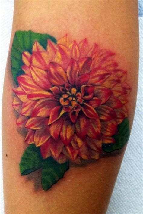 dahlia tattoos 36 best dahlia ideas images on