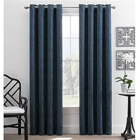 buy hyde park 63 inch grommet top window curtain panel in