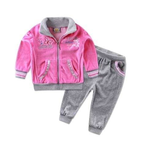 winter clothes baby 2016 new style children s clothing casual sports set baby