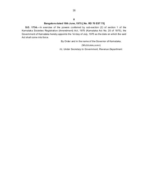 section 17 registration act apartment management the karnataka societies registration