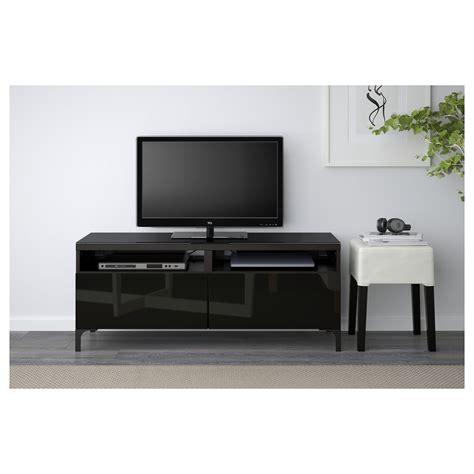 black high gloss tv bench best 197 tv bench with drawers black brown selsviken high