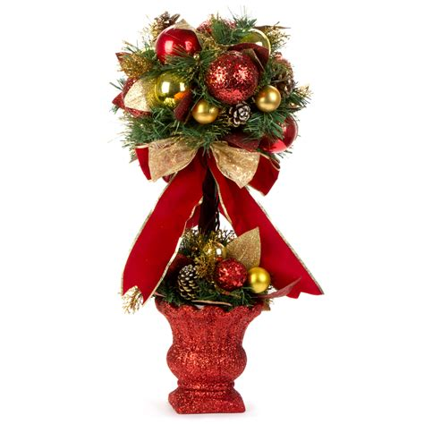 swish collection christmas topiary tree 66cm