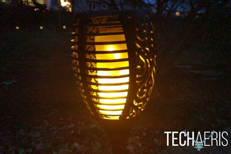 Oxyled Solar Torch Light Review Interesting Lighting To Solar Torch Light