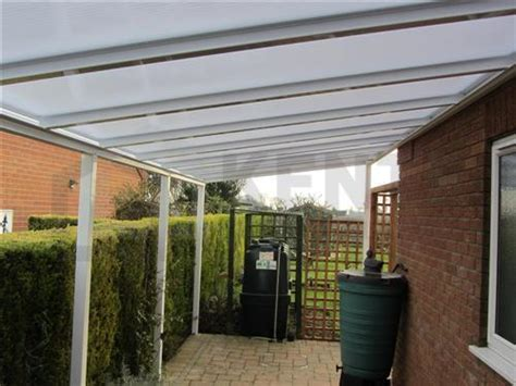 Canopy Opening Hours 5500mm X 2100mm Projection Glazed Canopy Kit