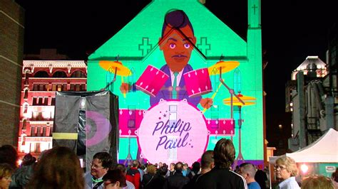 blink cincinnati brings familiar downtown sights to with projections wkrc