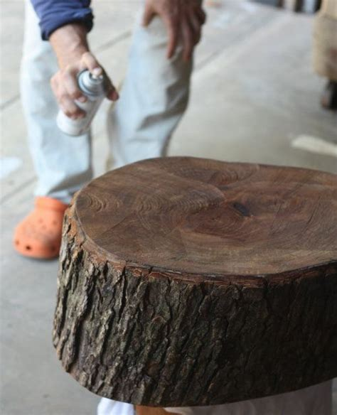 preserve  bark   tree stump   table