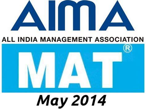 aima mat may 2014 registration careerindia