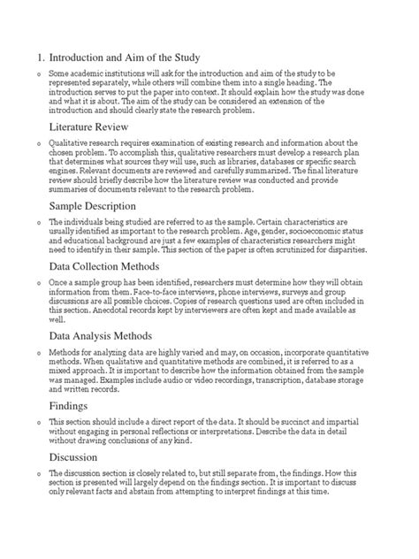 abstract part of a research paper parts of qualitative research paper qualitative research