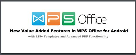 templates for wps office android new value added features in wps office for android augment