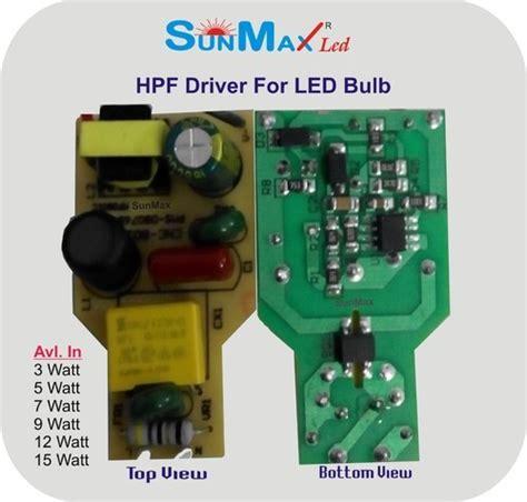 9w Led Bulb Circuit Diagram
