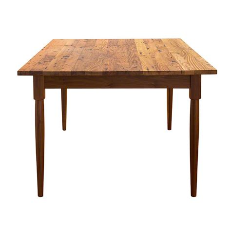 barnwood dining room tables reclaimed barnwood farm dining table hand crafted in vermont
