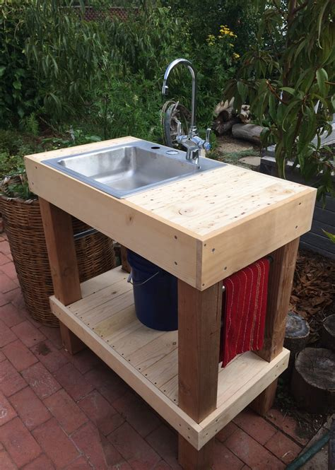 garden sink outdoor sink total project cost  xbmauvo