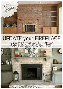 Reface Kitchen Cabinet Doors how to paint a brick fireplace infarrantly creative