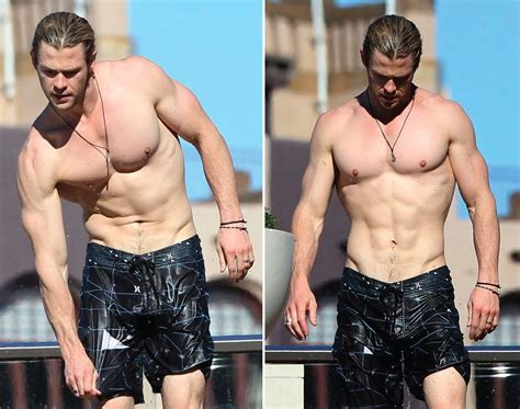 just started watching rush chris hemsworth my goal