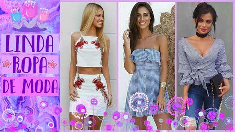 17 best images about verano ropa de moda 2017 primavera verano mujer juvenil tendencias combinaciones 17 2018