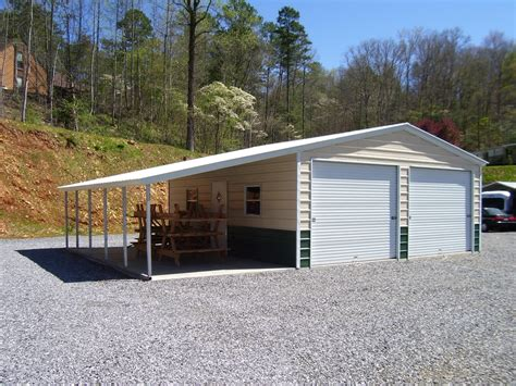 Garage With Carport Prices Metal Garages Steel Garage Prices Packages