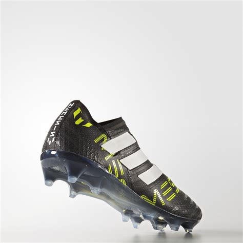 Nemeziz Messi 17 360 Agility Firm Ground Boots Junior adidas nemeziz messi 17 360 agility firm ground boots black footwear white solar