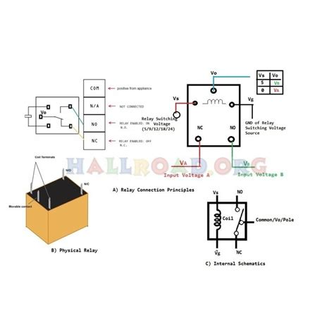 5 pin relay wiring schematic wiring diagrams