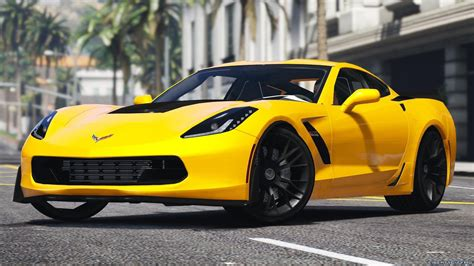 chevrolet c7 corvette 2016 chevrolet corvette c7 z06 add on для gta 5