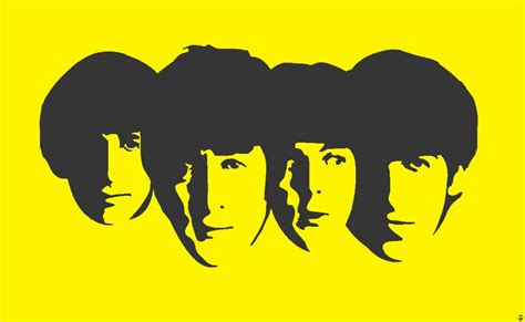 Kaos The Beatles Logo Stencil beatles stencil by heinpold on deviantart