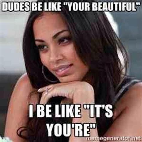 Beautiful Woman Meme - lauren london beautiful meme