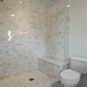 Framing Shower Bench Marble Floors Design Ideas