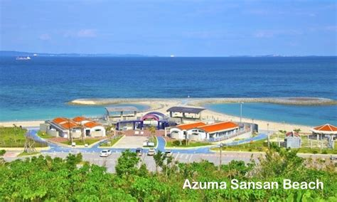 Kursi Santai Anti Air pantai di okinawa info travel easy travel