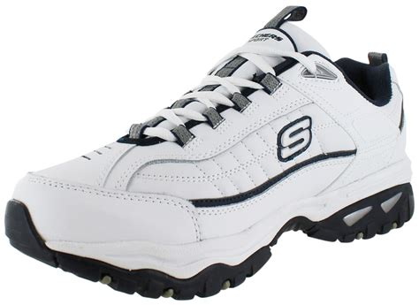 wide width athletic shoes for skechers sport afterburn mens athletic shoes sneakers wide