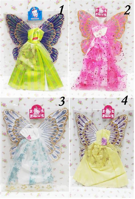 Boneka Sayap jual baju gaun boneka dengan sayap peri anr noel shop